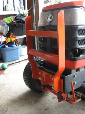 Tractor Grill Protector : Ballard fabrication